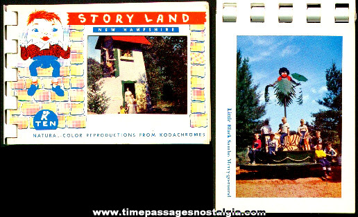 Old Story Land Park Souvenir Booklet Of Color Pictures