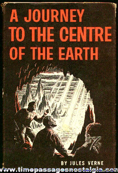 "�1959 ""A Journey To The Center Of The Earth"" Book By Jules Verne"