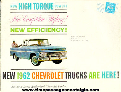 1962 Chevrolet Trucks Advertising Booklet