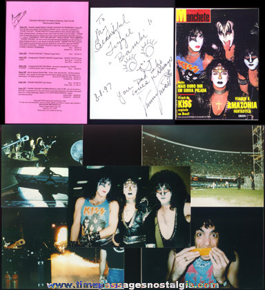 (7) KISS / Vinnie Vincent Items