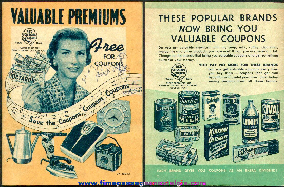 1956 Advertising Premium Catalog For Many Products