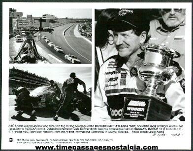 "Motorcraft Atlanta ""500"" Nascar Race ABC Television Promotional Photograph"