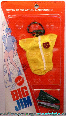 Unopened ©1973 BIG JIM Skin Diving Outfit By Mattel