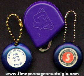 (3) Small Advertising Premium Tape Measures