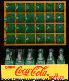 Case Of Miniature Coca - Cola Bottles
