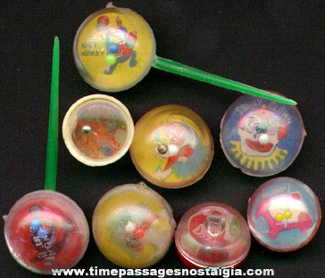 (8) Gum Ball Machine And Cake Decoration Dexterity Puzzles