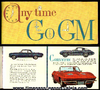 "General Motors ""Go GM Anytime In '63"" Booklet"