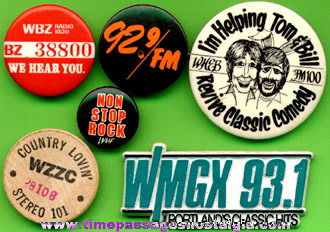 (6) Different Radio Station Advertising Items