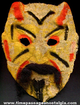 Early Halloween Devil Face Mask