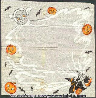 1924 Halloween Party Paper Napkin