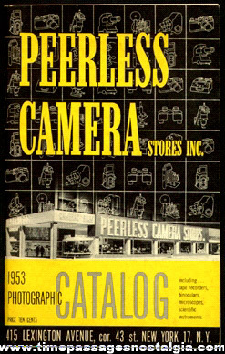 1953 Peerless Camera - Photographic Catalog