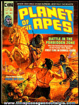 ©1974 Issue #2 Planet Of The Apes Comic Book