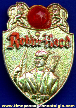 Old Robin Hood Premium Toy Badge
