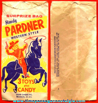 Leader Candies Howdy Pardner Surprize Bag