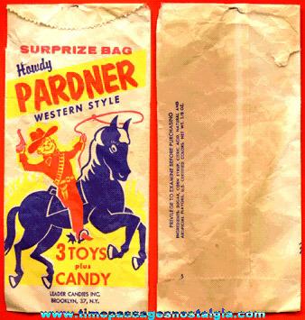 Leader Candies Howdy Pardner Surprize Bag