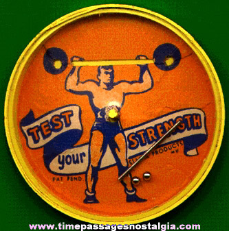 Old Strong Man With Barbell Deterity Puzzle