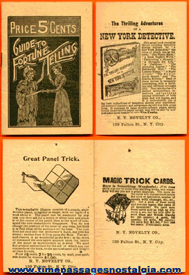 Small Old Guide To Fortune Telling Booklet