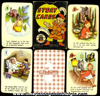 "�1947 Boxed Deck Of ""Story Cards"" By Ed-U-Cards"