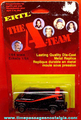 "Unopened Ertl ""The A Team"" Van"