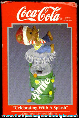 ©1993 Enesco Coca-Cola Advertising Christmas Ornament (MIB)