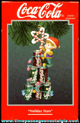 ©1994 Enesco Coca-Cola Advertising Christmas Ornament (MIB)