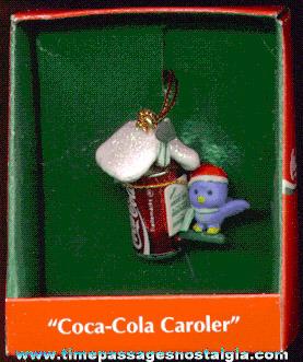 ©1994 Enesco Coca-Cola Advertising Christmas Ornament (MIB)