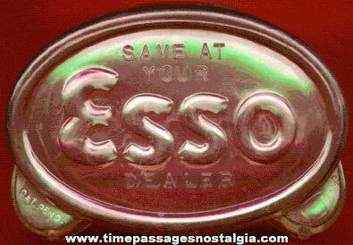 Old ESSO Gasoline Advertising Premium Bank