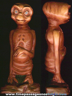 1982 Ceramic ET Statue