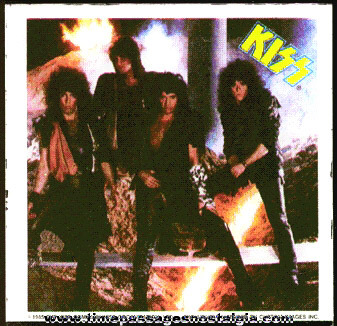 �1985 Glass Kiss Band Picture