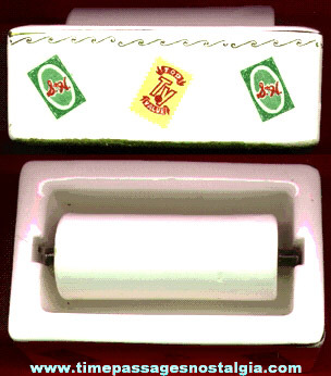 Old S & H Green Stamps Top TV Value Premium Stamps Advertising Moistening Roller
