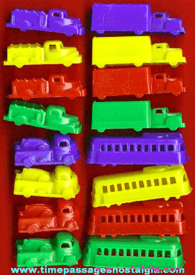 (16) Colorful 1950's Hard Plastic Vehicles