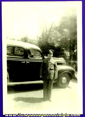 1941 Police Officer Or Military Serviceman Photograph