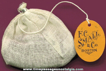 1924 F. C. Small & Co. Unused Tea Bag