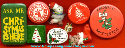 (9) Different Christmas Pins