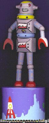 Space Robot Push Puppet