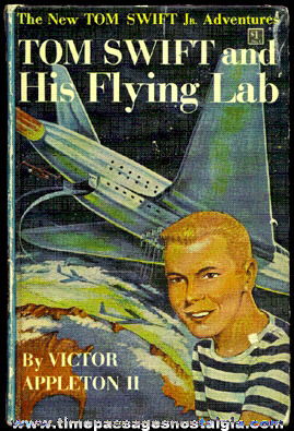 "©1954 ""TOM SWIFT AND HIS FLYING LAB"" Hard Back Book"