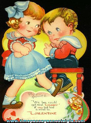1939 Mechanical Valentine Card