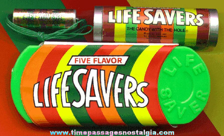 (3) Old Life Savers Candy Advertising Items