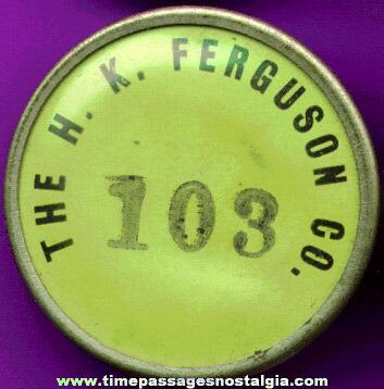 Old H. K. Ferguson Company Employee Badge