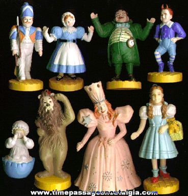 (8) Different Wizard Of Oz Character Figures