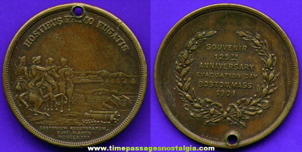 1901 Boston, Massachusetts Commemorative Coin / Medallion