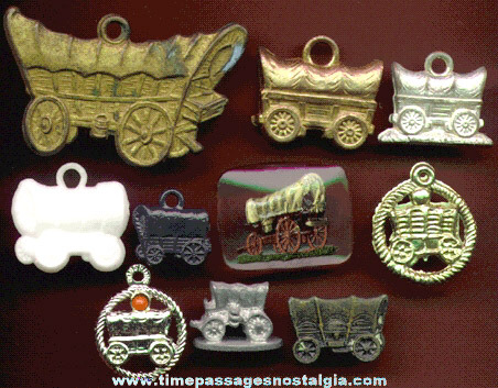 (10) 1930's to 1960's Conestoga Wagon Items