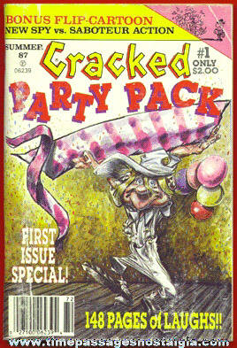 �1987 ISSUE #1 CRACKED PARTY PACK Digest Magazine / Book