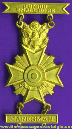 Old N.B.P.R.P. Junior Small Bore Marksman Medal