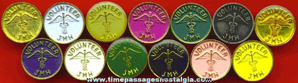 (13) Different Matching Volunteer Nurse Hospital Pins