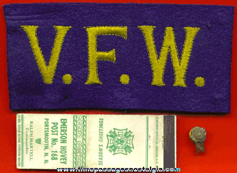 (3) Old Veterans Of Foreign Wars (V.F.W.) Items