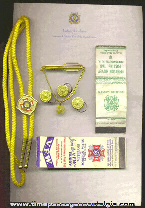(8) Veterans Of Foreign Wars (V.F.W.) Items