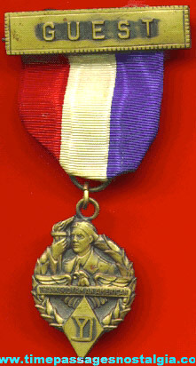 Old Yankee Division Veterans Convention Guest Ribbon Medal