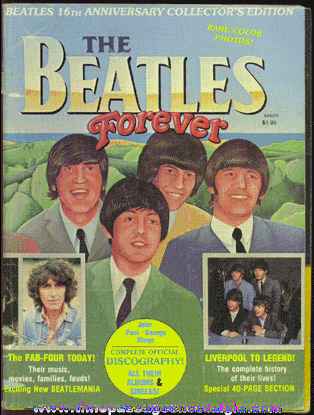 "©1978 ""The Beatles Forever"" 16th Anniversary Collector's Edition Magazine"