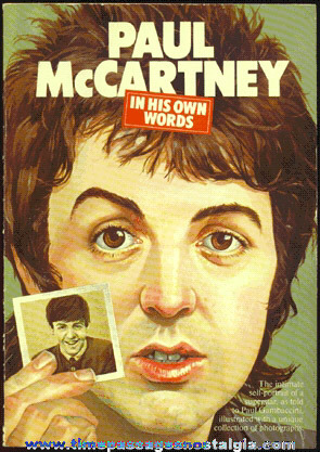 "�1976 ""Paul McCartney - In His Own Words"" Soft Cover Book"